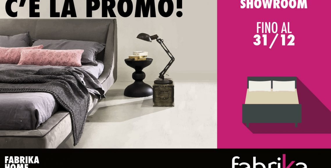 fabrika promo letto in showroom