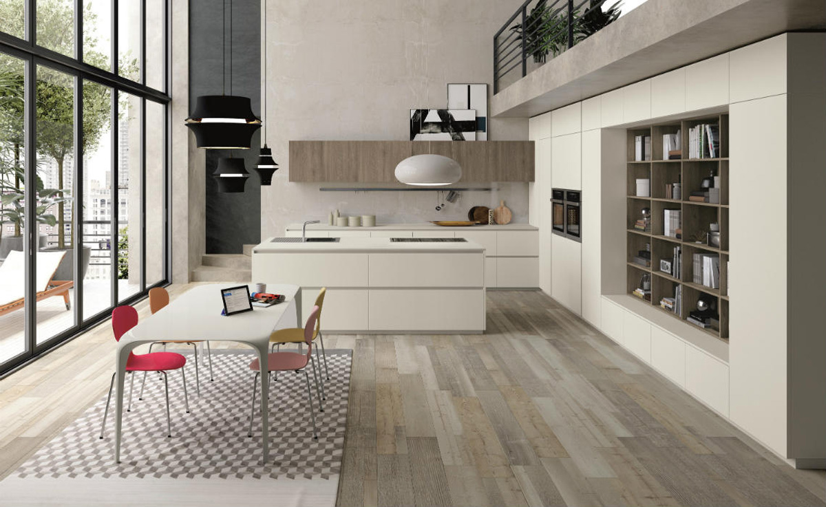 Cucine moderne macerata fabrika home solutions for Cucina italiano